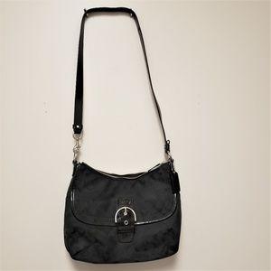 COACH Soho Signature Flap Duffle Bag w/ Wallet NWT